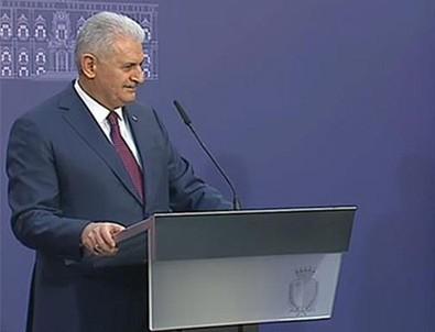 Başbakan Yıldırım: MHP ile ortak etkinlik yapabiliriz
