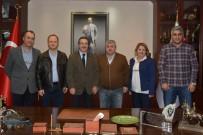 CAMİİ - Başkan Ataç'a Ziyaretler Devam Ediyor