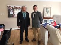 KÜLTÜR VE TURİZM BAKANI - Başkan Şahin'den Türkiye Geleneksel Spor Dalları Federasyonuna Ziyaret