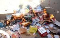 SIGARA - Bodrum'da Kaçak İçki Ve Tütün Ürünleri İmha Edildi