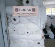 FABRIKA - Çalıştığı Fabrikadan 1 Milyonluk Kumaş Çaldı
