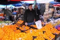 PAZAR ESNAFI - Çürük Mandalina Kavgası Karakolda Bitti
