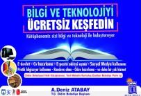 GÜVENLİ İNTERNET - Didim Belediyesi, Herkes İçin Kütüphane Projesine Katıldı
