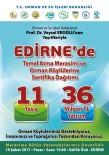 Edirne'ye 11 Tesis, 24 Milyon TL'lik Yatırım Kazandırılıyor