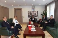 MAHMUT DEMIRTAŞ - Gergerli'den Vali Demirtaş'a Ziyaret