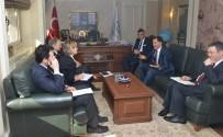 KAMU DENETÇİLİĞİ - Kamu Başdenetçisi Malkoç, AB Türkiye Delegasyon Başkanı Berger İle Görüştü