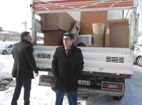 MEHMET NURİ ÇETİN - Kaymakam Çetin'den Suriyeli Ailelere Yardım