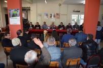 ÜST GEÇİT - Kaymakam Kurtbeyoğlu, Halk Toplantısına Yenidoğan'da Devam Etti