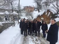 SU BASKINI - Köy Köy Gezerek Üreticiyi Zirai Dona Karşı Uyarıyorlar