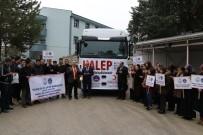CELEP - KYK Çalışanları İle Öğrencilerden Halep'e Yardım Eli