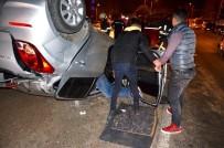 Milas'ta Bir Otomobil Takla Attı; 1'İ Ağır 2 Yaralı