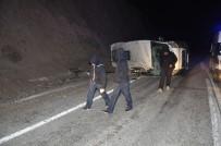 Mültecileri Taşıyan Minibüs Devrildi Açıklaması 7 Yaralı