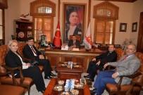 İNSANI YARDıM VAKFı - Müzeler Genel Müdür Yardımcısı Akçan'dan Başkan Yağcı'ya Ziyaret