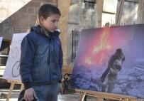 İNSANLIK DRAMI - Şanlıurfa'da 'Burası Halep' Adlı Fotoğraf Sergisi Açıldı