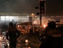 PATLAMA ANI - Şanlıurfa Viranşehir'de patlama!