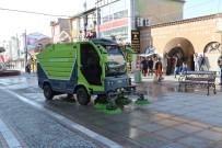 EDİRNE - Saraçlar Caddesi'nde Temizlik