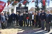 GARNİZON KOMUTANI - Şehit Polis Memuru Hasan Özdemir'in Adı Parkta Yaşayacak