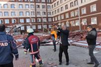 SİİRT ÜNİVERSİTESİ - Siirt'te Kız Yurdunun Çatısı Çöktü