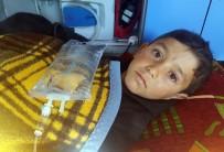 İNSANI YARDıM VAKFı - Suriye'de Bacakları Kopan Çocuk Türkiye'ye Getirildi