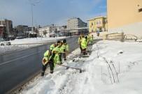 Trabzon'da Kar Mücadelesi Çalışmaları Sürdürülüyor