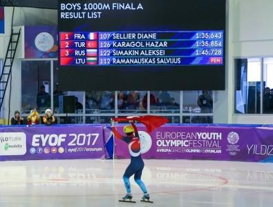 Türkiye ikinci madalyasını aldı