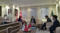 TÜRKSOY, İş Dünyası Genel Merkezini Ziyaret Etti