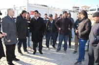 ELEKTRİK DİREĞİ - UEDAŞ Yetkilileri Deprem Bölgesini Ziyaret Etti