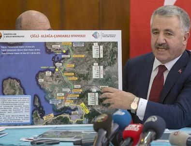 Ulaştırma Bakanı Arslan İzmir projelerini anlattı