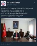 ZÜLKIF DAĞLı - Vali Dağlı Viranşehir'de Gerçekleştirilen Saldırıyı Kınadı