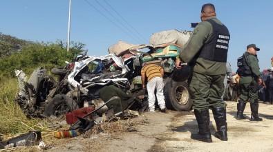 Venezuela'da korkunç kaza: 16 ölü, 50 yaralı