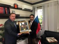 MOSKOVA - ALTAV'dan Rus Başkonsolosa Fuar Daveti