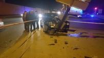Ankara'da İki Otomobil Çarpıştı Açıklaması 5 Yaralı