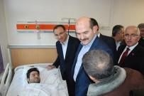SERVİS ARACI - Bakanlar, Viranşehir'deki Saldırıda Yaralananları Ziyaret Etti