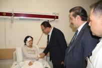 ADALET BAKANI - Bakanlar, Viranşehir'deki Terör Saldırısında Yaralanan Vatandaşları Ziyaret Etti