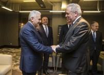 GENÇLİK VE SPOR BAKANI - Başbakan Binali Yıldırım, Avramopulos'u Kabul Etti