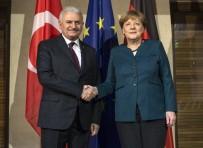 ANGELA MERKEL - Başbakan Yıldırım Merkel'le Görüştü