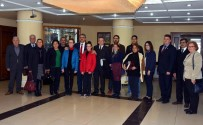 MECLİS BAŞKANLARI - Başkan Alıcık, Kent Konseyini Makamında Ağırladı