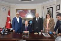 FARUK ÖZLÜ - Bilim, Sanayi Ve Teknoloji Bakanı İzmir'de