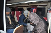 Çanakkale'de 61 Mülteci Yakalandı