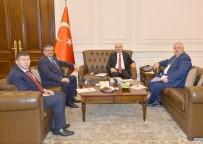 FARUK ÇATUROĞLU - Çaturoğlu Ve Ünal, İçişleri Bakanı Süleyman Soylu'yu Ziyaret Etti
