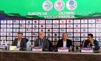 OLIMPIYAT - EYOF 2017 Basın Toplantısında Mikrofon Krizi