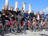 BİSİKLET YOLU - Mezitli'nin Muhtarları Artık Bisikletli