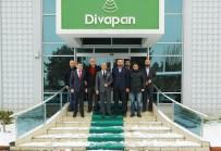 SELAHATTİN AYDIN - MÜSİAD'dan Divapan'a Ziyaret