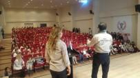 DEPREM BÖLGESİ - NAK Arama Kurtarma'dan Bir Günde Bin Öğrenciye Deprem Eğitimi