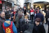 İSTİKLAL CADDESİ - Samsun'da Bildiri Dağıtımında Gerginlik Açıklaması 1 Yaralı