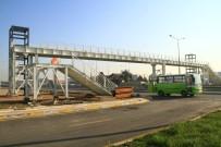 SAKIP SABANCI - Sanayi Mahallesi Yaya Köprüsü Bitme Aşamasında