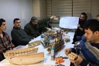 Trabzon'da Model Gemi Yapımını Öğreniyorlar