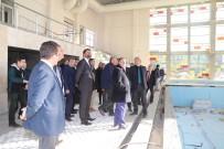 TURGAY ŞIRIN - Turgutlu'nun Dev Spor Kompleksinde Sona Yaklaşıldı