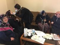 DİŞ SAĞLIĞI - Yaşlılara Ağız Ve Diş Sağlığı Hizmeti Verildi