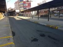SEMT PAZARLARı - Yavuz Mahallesi Pazar Yeri İşaretleme Çalışmaları Sürüyor